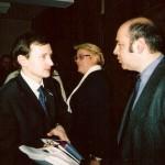С депутатом Александром Чуевым, Государственная Дума РФ, 2004 год