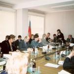 На встрече с представителями общественных организаций, Государственная Дума РФ, 2004 год