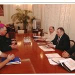 На встрече с Одесским городским головой Эдуардом Гурвицем, 2007