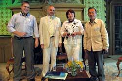 Участники сессии: Александр Копыл, Александр Доброер, Любовь Зыско, Акихиро Танака