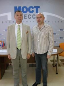 Сергей Марков (депутат Госдумы РФ) и Александр Доброер, 2011 год