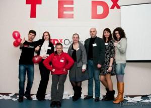 Команда организаторов первого TEDxOdessa