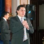 Иван Липтуга приветствует гостей